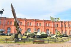 Музей экспозиции артиллерии Стоковые Фото