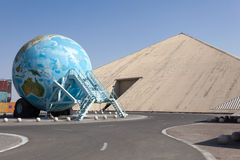 Музей эмиратов национальный автоматический в Абу-Даби Стоковое Изображение RF