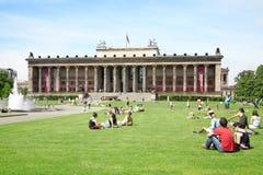 Музей древности, Берлин Стоковое Изображение