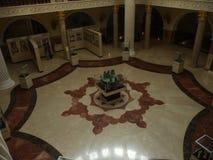 Музей Akhmat Hadzha Kadyrov Центральный Hall город Грозного столица Чечни стоковое фото rf