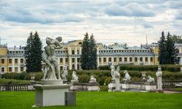 Музей Arkhangelskoye усадьбы в Москве стоковые фотографии rf