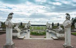 Музей Arkhangelskoye усадьбы в Москве стоковые изображения