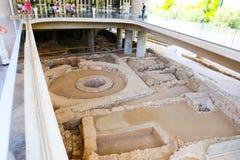 музей athens акрополя стоковая фотография rf