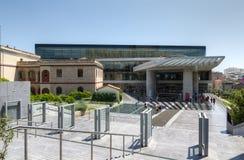 музей athens Греции акрополя новый стоковые фотографии rf