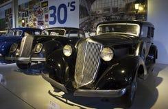 Музей Autoworld, Брюссель, Бельгия, 10-ое июля 2016 Стоковая Фотография RF