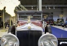 Музей Autoworld, Брюссель, Бельгия, 10-ое июля 2016 Стоковые Фотографии RF
