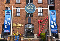 Музей Beatles в Ливерпуле, Англии Стоковое Изображение