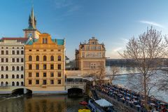 Музей Bedrich Smetana в Праге Стоковое фото RF