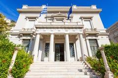 Музей Benaki в Афинах стоковое изображение