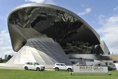 Музей BMW, Мюнхен, Германия Стоковая Фотография