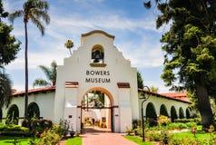 Музей Bowers - Санта-Ана, CA - округ Орандж Стоковое фото RF