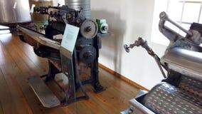Музей Chapelaria во время международного дня музея видеоматериал