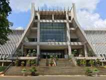 Музей Dak Lak, город Thuot мам Buon, Вьетнам стоковые фотографии rf
