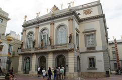 Музей Dali, Фигерас Испания Стоковая Фотография