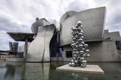 Музей Guggenheim Бильбао Стоковое фото RF