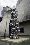 Музей Guggenheim Бильбао Стоковые Изображения RF