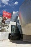 музей guggenheim входа bilbao к Стоковое Изображение RF