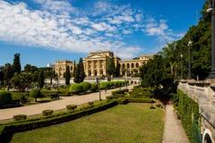 Музей Ipiranga, Sao Paulo-Бразилия стоковое изображение