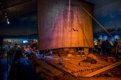 Музей Kon-Tiki в Осло Стоковое Изображение