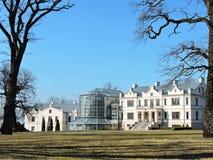 Музей Kretinga и wintergarden, Литва стоковая фотография