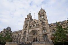 музей london истории естественный Стоковые Фотографии RF