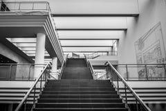 Музей Ludwig, лестница Стоковые Изображения