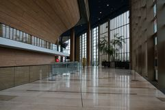Музей Ludwig - музей современного искусства в Будапеште стоковые изображения