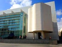 Музей Macba - Барселона стоковое изображение