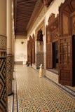 музей marrakech стоковое изображение