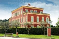 Музей Matisse, славный, Франция стоковое изображение rf