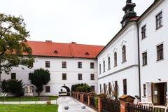 Музей Mendel в Augustinian аббатстве, Брне стоковые изображения rf