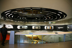музей mercedes автомобилей benz экспириментально Стоковое Изображение RF