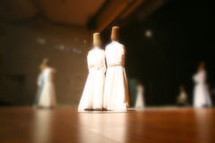 музей mevlana dervishes танцы Стоковое фото RF