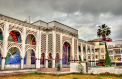 Музей Mohamed VI современного и современного искусства в Рабате, Марокко стоковое фото