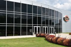 Музей Motorsports парикмахера винтажный в Лидсе, Алабаме Стоковые Фото
