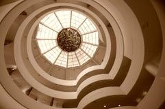 музей New York guggenheim Стоковые Фото