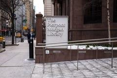Музей NYC библиотеки Pierpont Моргана Стоковая Фотография