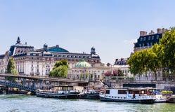 Музей Orsay и Национальный музей легиона почетности Стоковая Фотография
