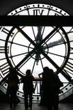 Музей Orsay, часы Musee d Orsay, гигантские часы стоковые изображения