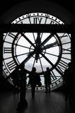 Музей Orsay, часы Musee d Orsay, гигантские часы стоковое фото rf