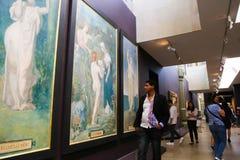 Музей Orsay (Musee d'Orsay) Стоковая Фотография