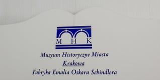 Музей Oskara Schindlera стоковое фото