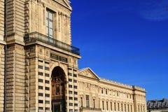 музей paris жалюзи Франции Стоковые Изображения RF
