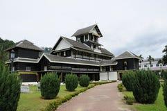 Музей Seri Menanti королевский (Muzium Diraja Seri Menanti) стоковое изображение