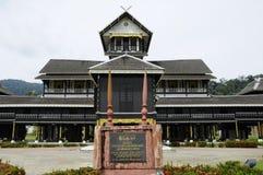 Музей Seri Menanti королевский (Muzium Diraja Seri Menanti) стоковая фотография rf