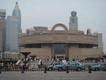 музей shanghai Стоковое Фото