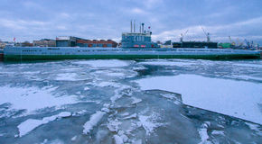 Музей Submarine'S-189 Стоковая Фотография