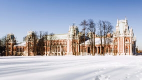 Музей Tsaritsyno в Москве, России Стоковое Изображение