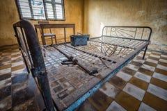 Музей Tuol Sleng/21 геноцида, Пномпень, Камбоджа Стоковые Изображения