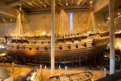 Музей Vasa в Стокгольме, Швеции стоковые изображения rf